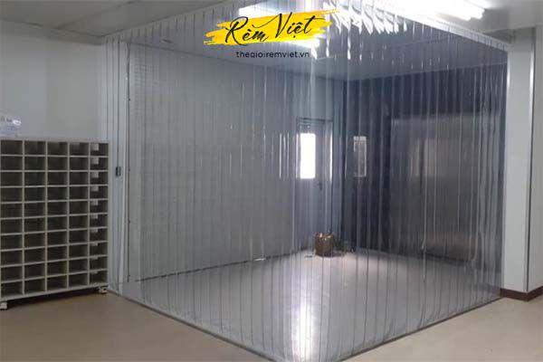 Rèm nhựa ngăn lạnh dành cho nhà xưởng nhà kho đông lạnh