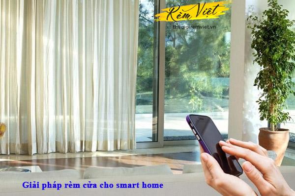 Rèm tự động phòng khách - Giải pháp tối ưu công nghệ cho căn nhà bạn