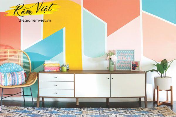 Lựa chọn trú trọng đến màu sắc của giấy dán tường