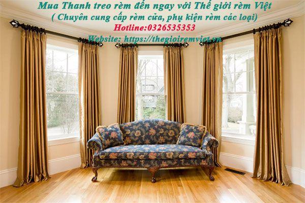 Nên mua thanh treo rèm cửa ở đâu Hà Nội, Tp. Hồ Chí Minh