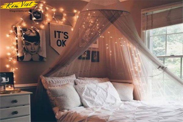 Đèn dây cho phòng ngủ vợ chồng