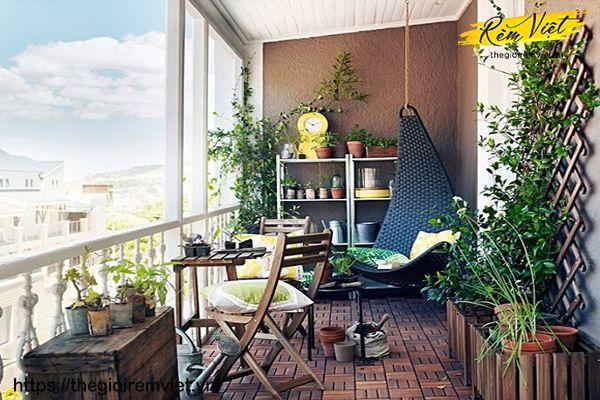 Cây xanh – Đồ trang trí phòng khách gần gũi với thiên nhiên