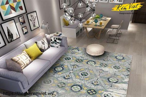 Thảm lót Sàn - một sản phẩm decor cần thiết